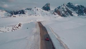 Peter McKinnon in the Alps to Shoot Porsches