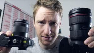Thomas Heaton Trades a 5D Mark IV DSLR for a Canon M5 Mirrorless Camera