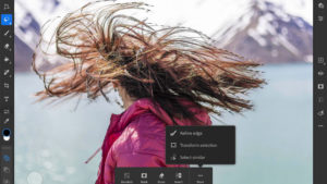 Adobe Adds Refine Edge Brush & Rotate Canvas Tools To Photoshop for iPad