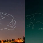 This Light Artist Used a Drone to Paint Stop Motions in the Sky