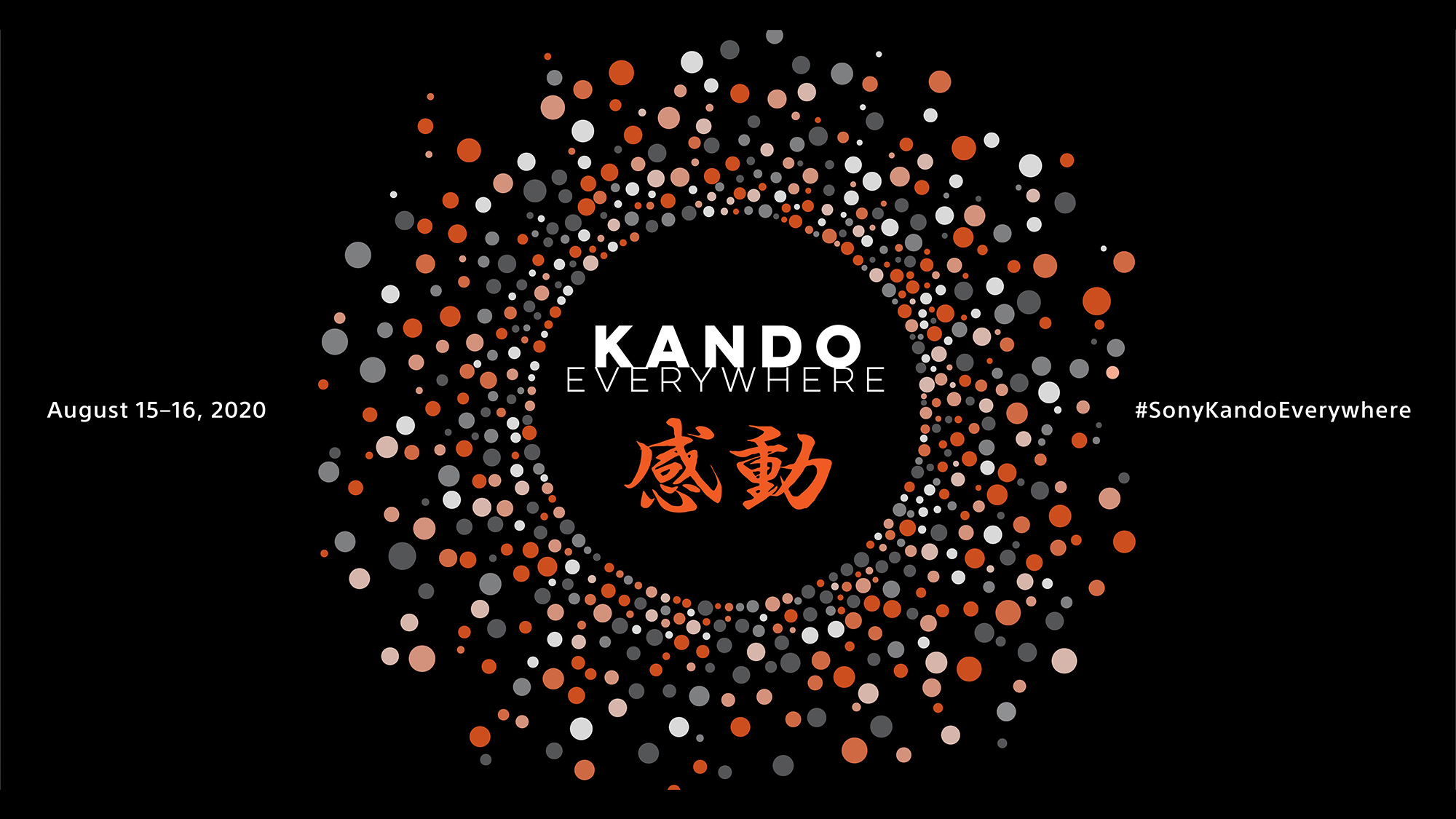 "Registration Opens for Sony's Digital ""Kando Everywhere,"" a Free Online Event for Content Creators"