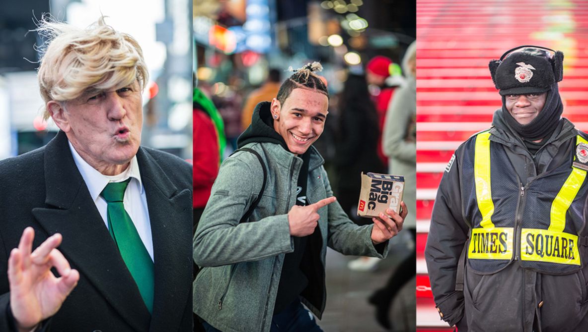 Could You Shoot Portraits of Strangers for 24 Hours Nonstop?