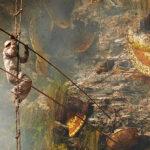 Andrew Newey's Striking Photographs of Traditional Honey Hunters in Nepal
