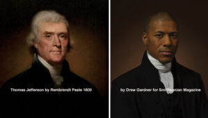 Photographer Recreates Historical Portraits Using Direct Descendants of the Subjects, Including Thomas Jefferson's Sixth Great Grandson
