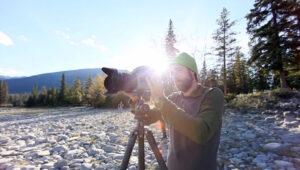BTS – Outdoor Catalog Shoot In Jasper National Park From Lars Schneider