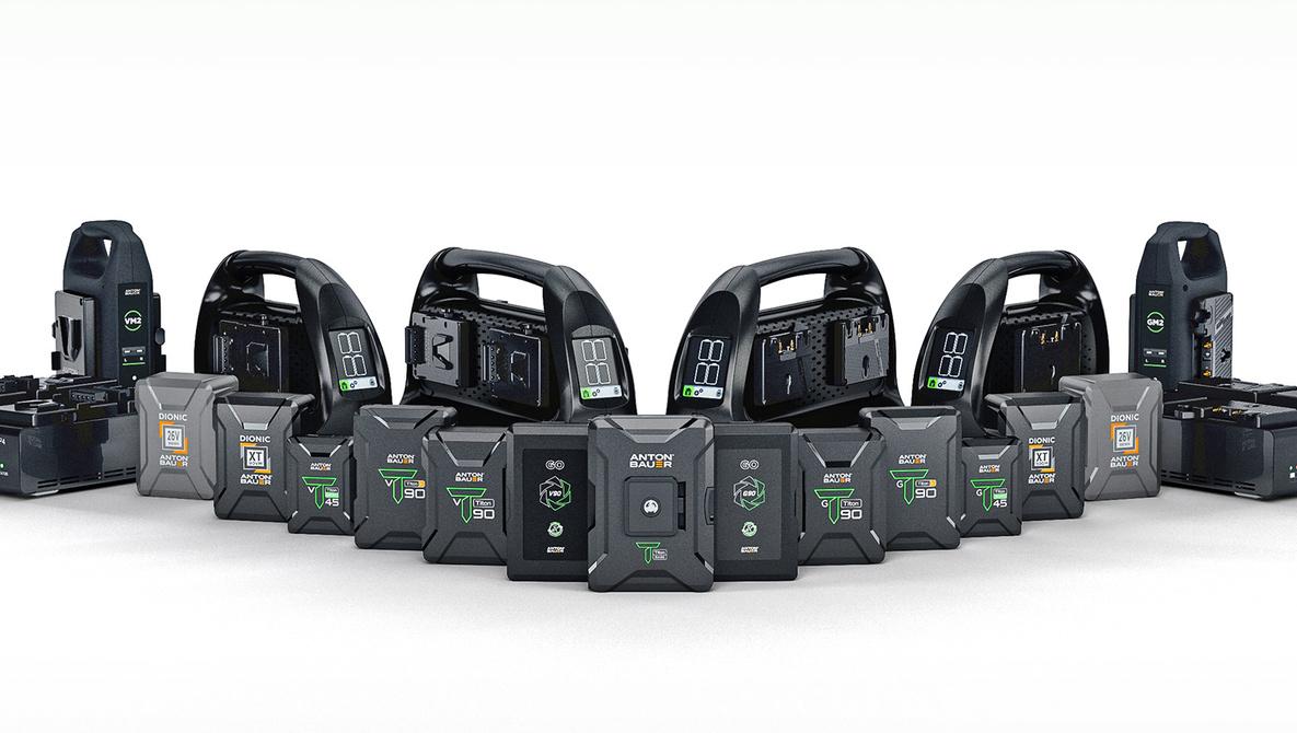 Anton/Bauer Announces New Compact Batteries for Video Setups